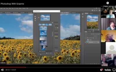 Photoshop with Graeme Session 1