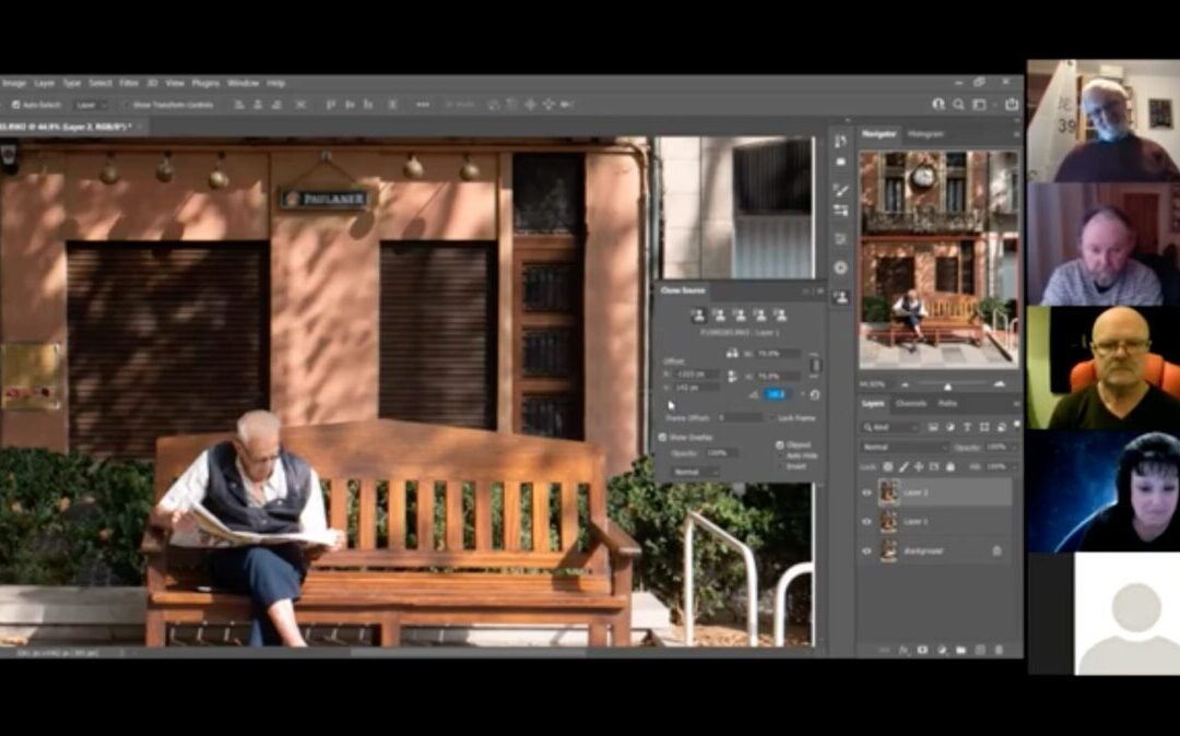 Photoshop with Graeme Session 2